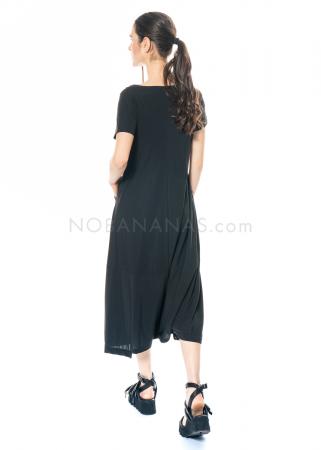 yukai, Hosenkleid mit Taschen aus Technostretch