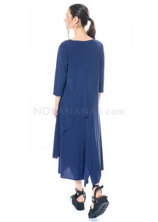 yukai, sommerliches Kleid mit asymmetrischen Saumkanten