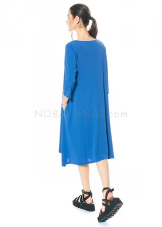 yukai, Kleid mit Taschen und asymmetrischem Saum