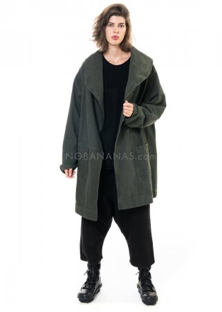 PAL OFFNER, Oversize-Mantel aus Denim