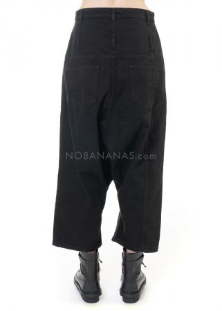 PAL OFFNER, Jeans mit tiefem Schritt und Gürteln