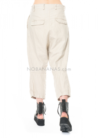 RUNDHOLZ, leichte Hose in Knitter-Optik 1211020102