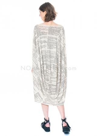 RUNDHOLZ, ballonförmiges One Size Kleid mit handgemaltem Motiv 1211080906