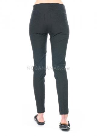 RUNDHOLZ, schlichte Hose aus strukturiertem Woll-Stretch 1211100104