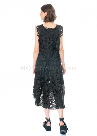 RUNDHOLZ, One Size Kleid mit Laser-Cut-Outs 1211110903