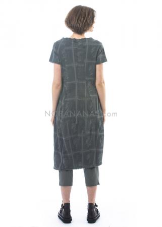 RUNDHOLZ, lässiges Kleid aus Baumwolle mit Allover-Print 1201270908