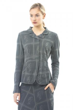 RUNDHOLZ, Jacke aus Baumwolle mit Allover-Print 1201271107