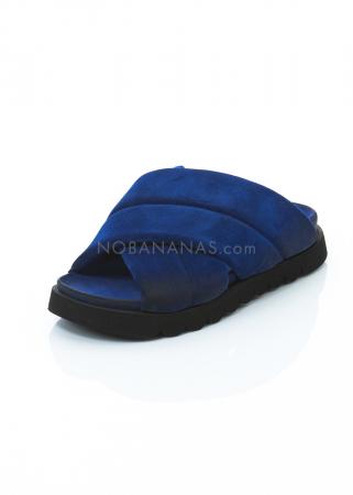 RUNDHOLZ BLACK LABEL, Slip-in Sandale aus weichem Leder 1203985214