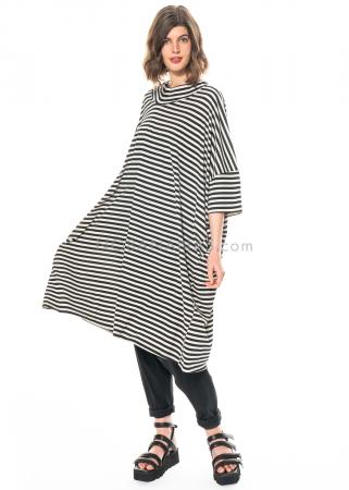 RUNDHOLZ, oversized Kleid mit asymmetrischem Ausschnitt 1211220905