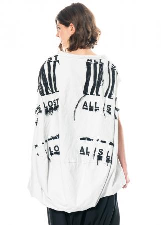 RUNDHOLZ, ballonförmiges One Size Kleid mit Stickerei 1211290905