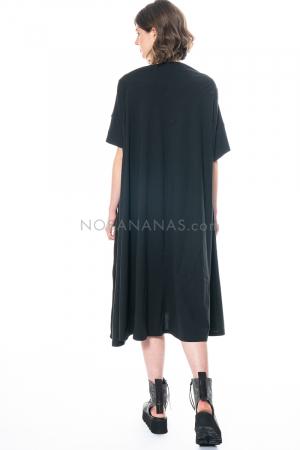 RUNDHOLZ, ausgestelltes Kleid mit Trapezausschnitt 1211300911