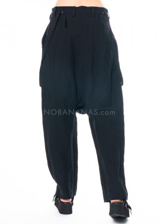 RUNDHOLZ, gerade geschnittene Hose mit Metallgarn 1211310102