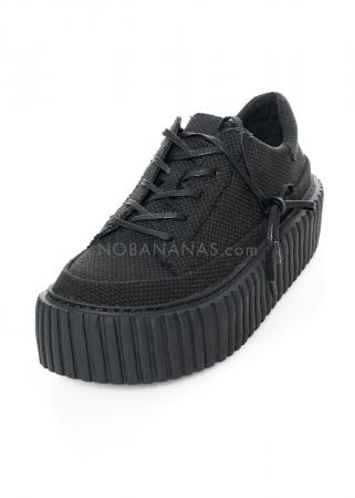 RUNDHOLZ, Textil-Sneaker mit Plateau-Sohle 1211465280