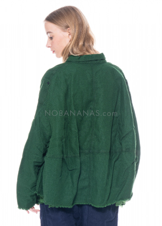 RUNDHOLZ DIP, zweilagige Jacke mit geknöpften Taschen 1212261105