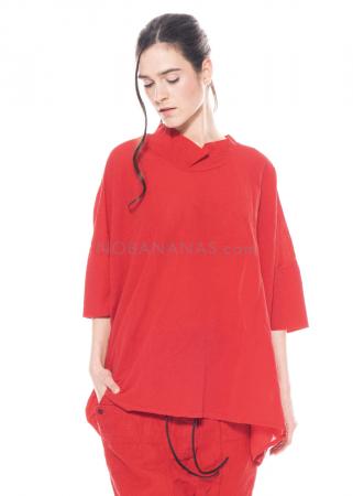 RUNDHOLZ DIP, oversized T-Shirt aus feinem Jersey 1212280503