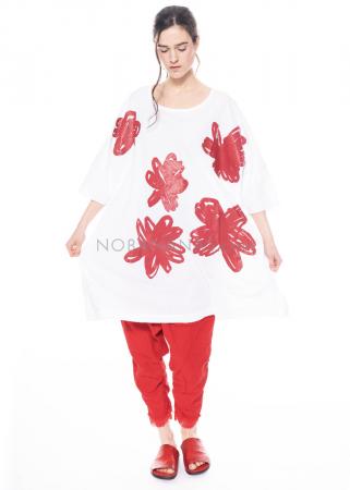 RUNDHOLZ DIP, One Size Kleid mit Blumen-Print 1212300904
