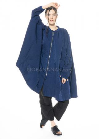 RUNDHOLZ DIP, One Size Mantel mit geknöpften Taschen 1212391206