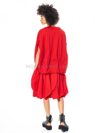 RUNDHOLZ DIP, plain balloon-shaped T-shirt 1212420503