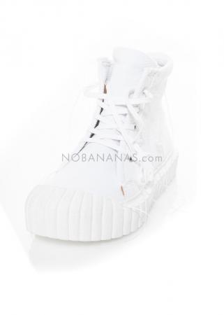RUNDHOLZ DIP, hoher Textil-Sneaker mit strukturierter Sohle 1212465271