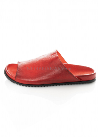 RUNDHOLZ DIP, plain leather mules 1212465275
