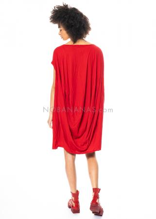 RUNDHOLZ DIP, One Size Tulpenkleid mit Lack-Print 1212520921