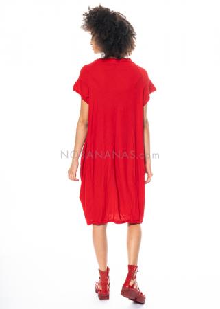 RUNDHOLZ DIP, sommerliches Kleid mit kurzen Ärmeln 1212520923