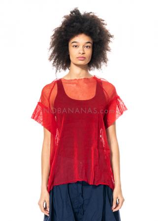 RUNDHOLZ DIP, oversized tulle shirt 1212550507