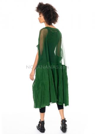 RUNDHOLZ DIP, oversized Tüllkleid mit Volants und Lack-Print 1212550916