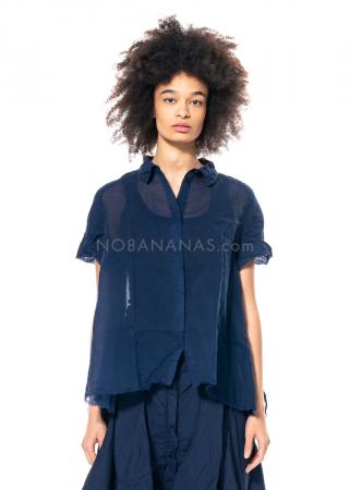 RUNDHOLZ DIP, transparent cotton blouse 1212580404