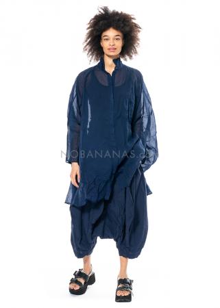 RUNDHOLZ DIP, transparentes oversized Hemdblusenkleid 1212580906