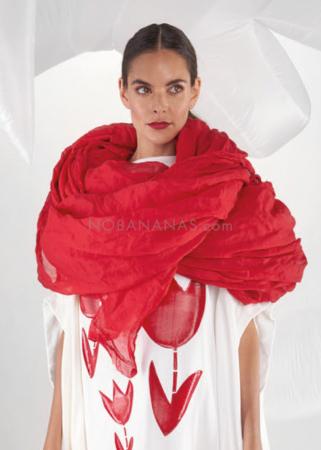RUNDHOLZ DIP, transparent 5 meter scarf 1212581409