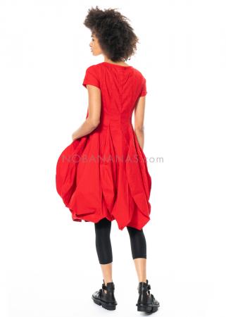 RUNDHOLZ DIP, Tulpenkleid aus Leinen-Baumwoll-Stretch 1212590911