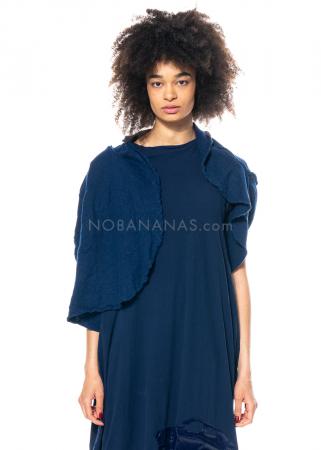 RUNDHOLZ DIP, short wool cape 1212687102
