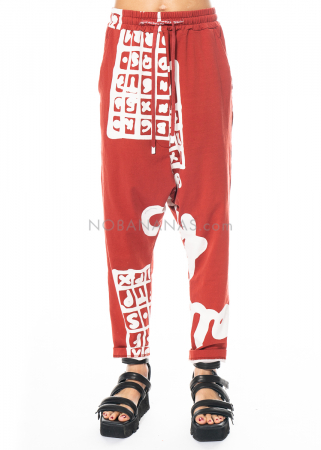 RUNDHOLZ BLACK LABEL, Hose aus Sweatshirtstoff mit Printmuster 1213290101