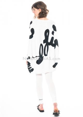 RUNDHOLZ BLACK LABEL, cotton leggings with print 1213300208