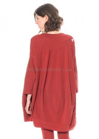 RUNDHOLZ BLACK LABEL, weites Kleid aus Baumwolle mit Print 1213300901