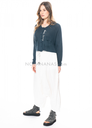 RUNDHOLZ BLACK LABEL, wide trousers with deep crotch 1213360105