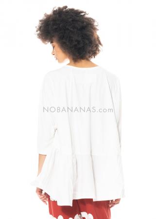 RUNDHOLZ BLACK LABEL, T-Shirt mit asymmetrischem Schößchen 1213360502