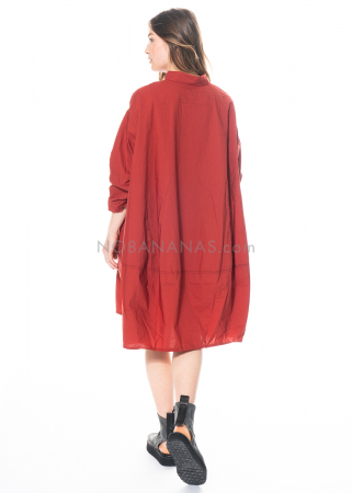 RUNDHOLZ BLACK LABEL, Hemdblusenkleid aus Popeline 1213360908