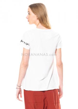 RUNDHOLZ BLACK LABEL, T-Shirt in A-Linie mit Print 1213370502