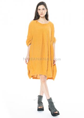 RUNDHOLZ BLACK LABEL, weites One-Size-Kleid aus Leinen 1213540904