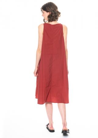 RUNDHOLZ BLACK LABEL, ärmelloses Kleid in A-Linie mit Print 1213600920