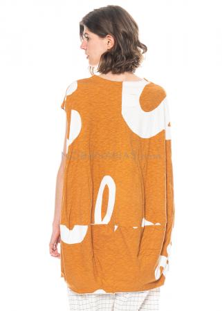 RUNDHOLZ BLACK LABEL, tulpenförmiges Kleid aus Baumwolle mit Print 1213640901
