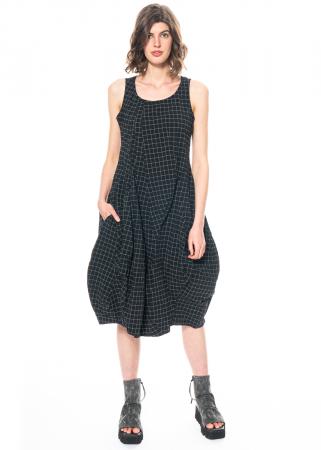 RUNDHOLZ BLACK LABEL, ärmelloses Kleid im Karomuster 1213830906