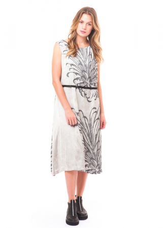 pas de calais, vintage satin dress 13-90-4473 white