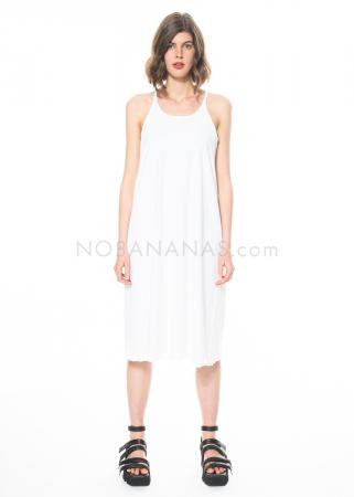 RUNDHOLZ, ausgestelltes Kleid mit Spaghettiträgern 1211300915