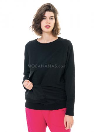 PAL OFFNER, asymmetrisches Sweatshirt Größe 4