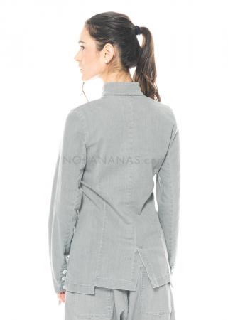 PAL OFFNER, schmale Jacke aus leichtem Stretch-Denim