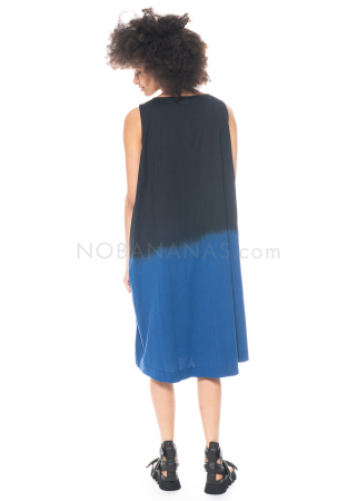 Moyuru, zweifarbiges ärmelloses Kleid 211427