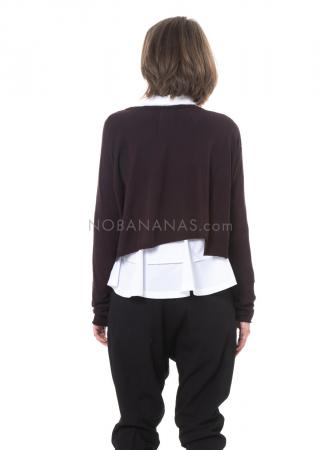 RUNDHOLZ, kurzer oversized Cardigan 2201457102